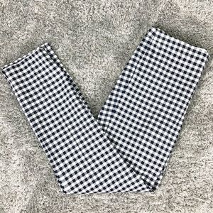 J. Crew Martie Gingham Pants Trousers Tall Long